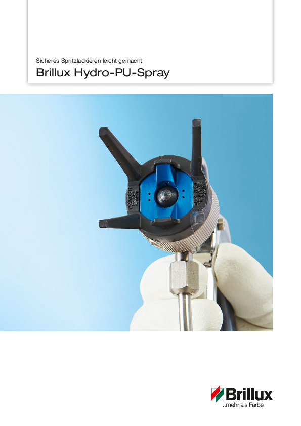 "Prospekt ""Hydro-PU-Spray"""