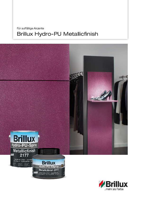 Hydro-PU Metallicfinish