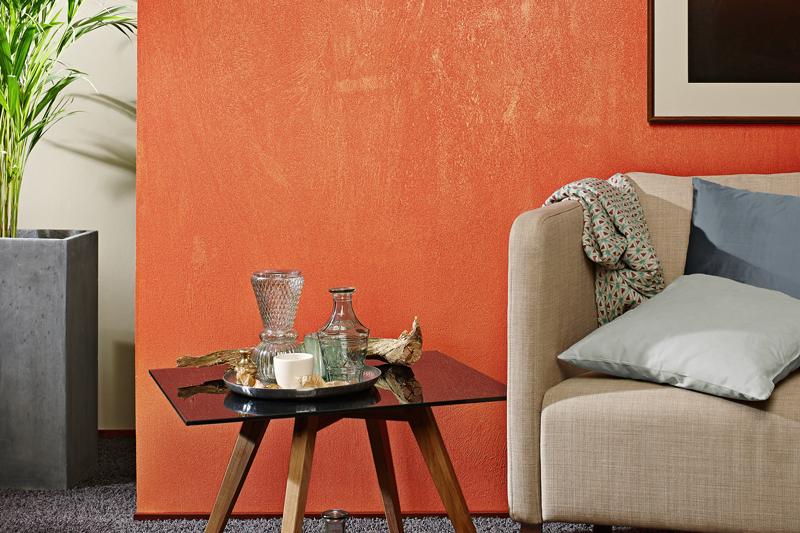 metallische wandgestaltung brillux. Black Bedroom Furniture Sets. Home Design Ideas