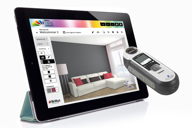 farbdesigner farebn design navrhovanie farebn ho rie enia. Black Bedroom Furniture Sets. Home Design Ideas