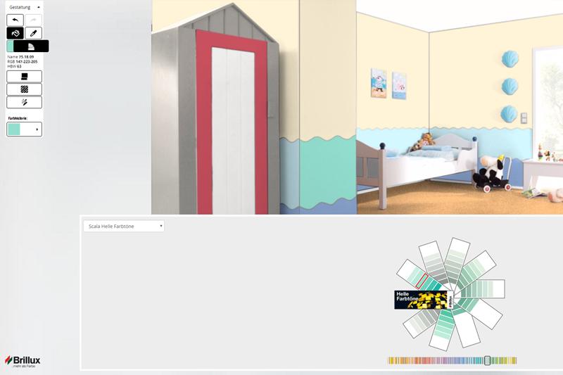 Noch nie war Farbgestaltung so einfach! Entwerfen Sie online im ...