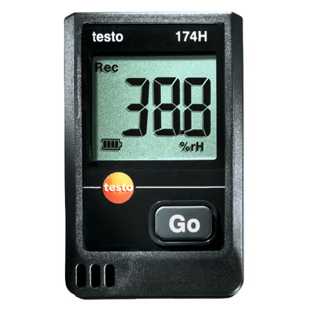 Testo Datenlogger 174 H, Set 1862